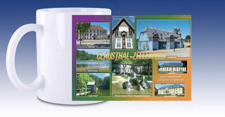 Keramik-Tasse Clausthal-Zellerfeld AK2011