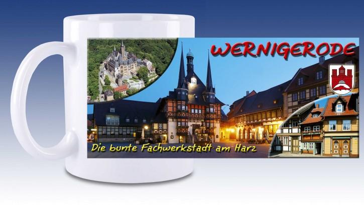 Keramik-Tasse Wernigerode 01