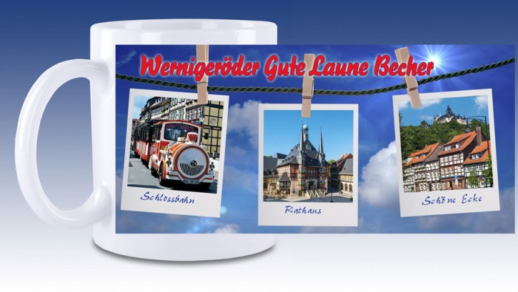 Keramik-Tasse Wernigerode 02