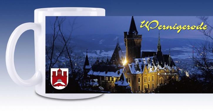 Keramik-Tasse Wernigerode 03