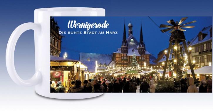 Keramik-Tasse Wernigerode 05