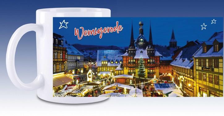 Keramik-Tasse Wernigerode 06