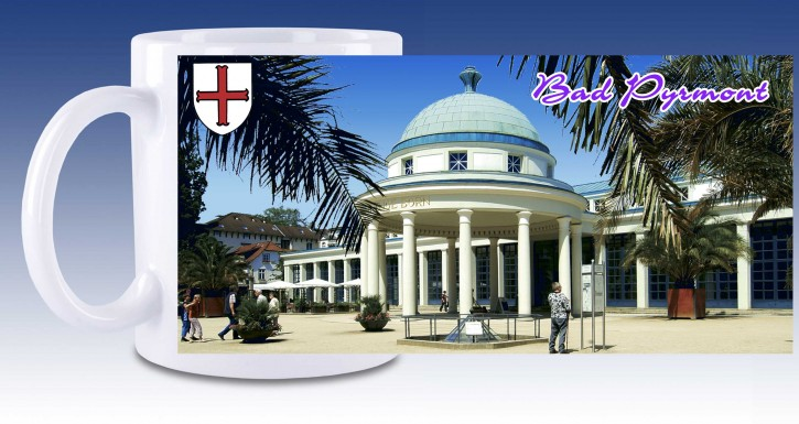 Keramik-Tasse Bad Pyrmont 01