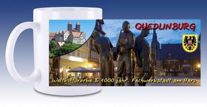 Keramik-Tasse Quedlinburg 01