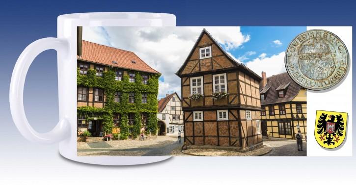 Keramik-Tasse Quedlinburg 03