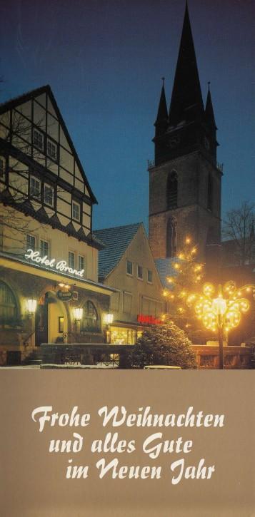 Weihnachtskarte BAD DRIBURG W-0006