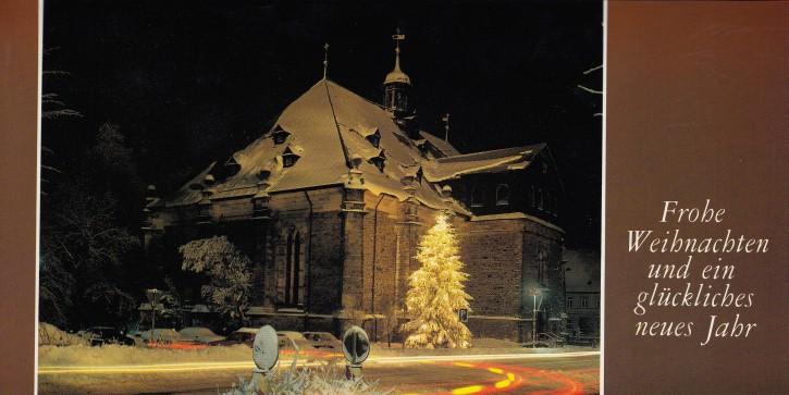 Weihnachtskarte CLAUSTHAL-ZELLERFELD W-1