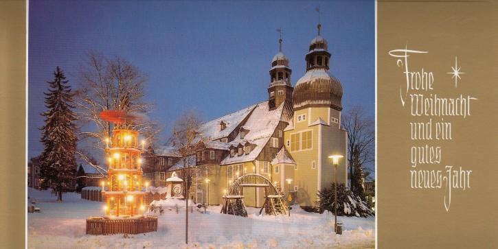 Weihnachtskarte CLAUSTHAL-ZELLERFELD W-4