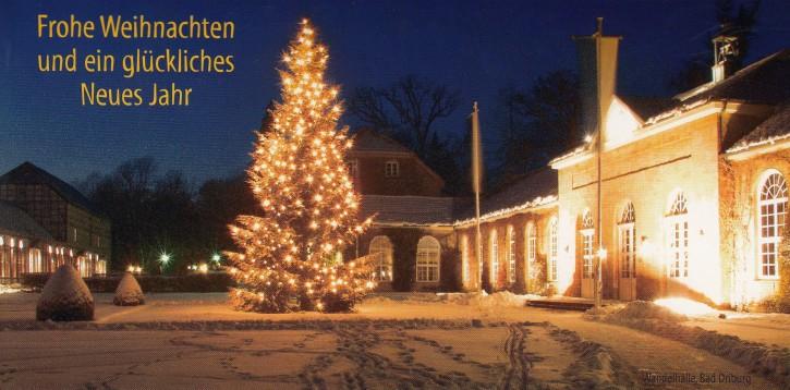 Weihnachtskarte BAD DRIBURG W-5010