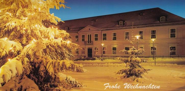 Weihnachtskarte CLAUSTHAL-ZELLERFELD W-6