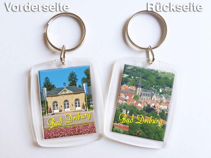 Acryl-Schlüsselanhänger Bad Driburg 550