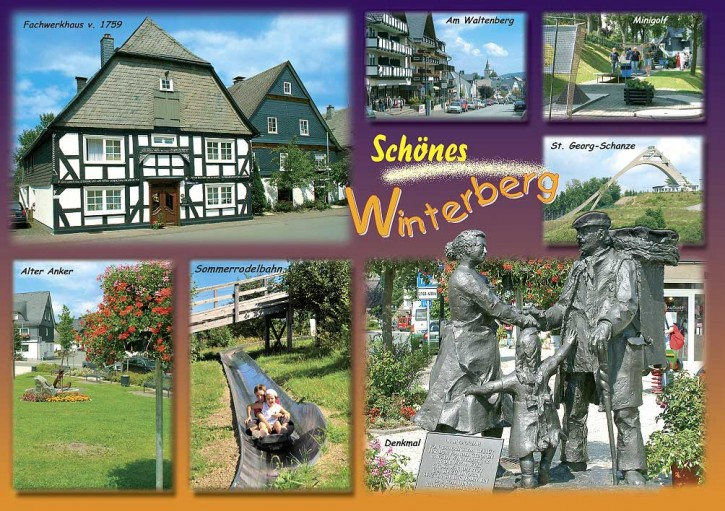 MAXI-CARDS Winterberg 6602