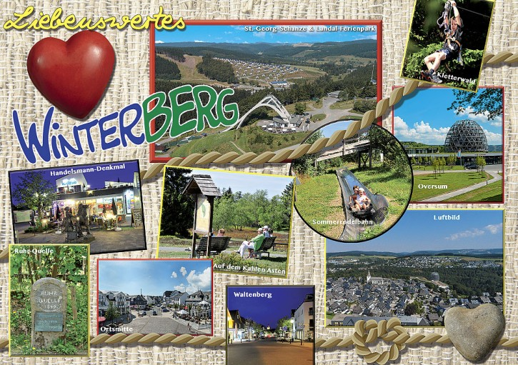 MAXI-CARDS Winterberg 6611