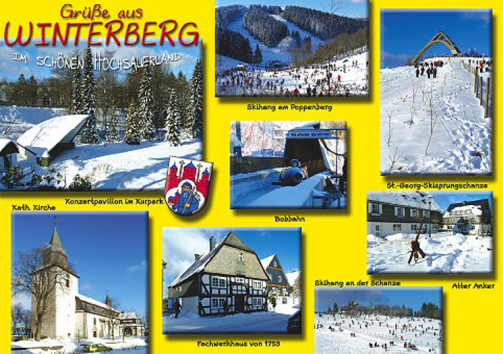 MAXI-CARDS Winterberg 6651