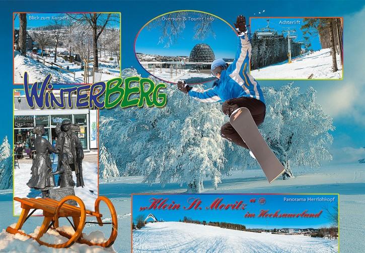 MAXI-CARDS Winterberg 6655