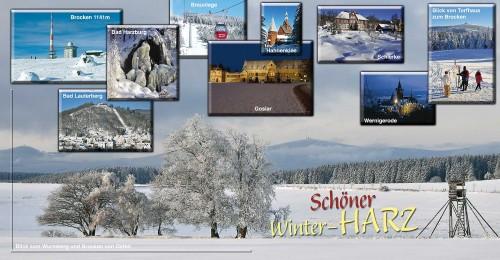 XXL-CARDS Harz 9917 Winter