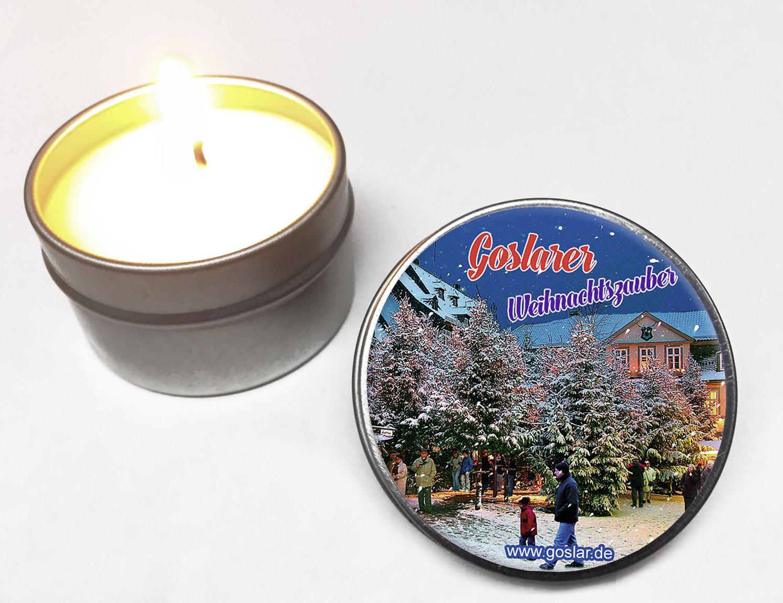 Weihnachtskarten Mit Duft.Vanille Duft Kerze Goslarer Weihnachtszauber Ean 4893223183126